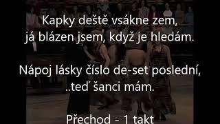 Nápoj lásky číslo 10, Karel Gott, karaoke lyrics, Gdur níž