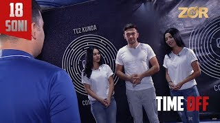 Time OFF 18-soni - Muqaddas Sadullayeva, Sitora Nuriddinova, Nusrat Abdirasulxon (22.08.2017)