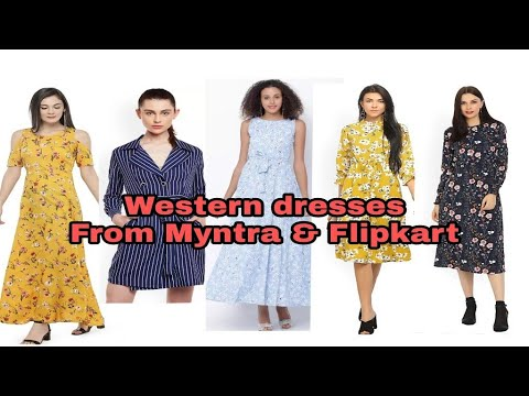 e75a06f3f Flipkart and Myntra Western dresses haul  myntra Maxi dresses review ...