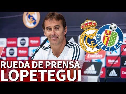 Real Madrid Vs. Getafe | Rueda de prensa completa de Lopetegui  Diario AS