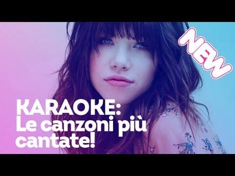 Canzoni Karaoke: le più cantate!