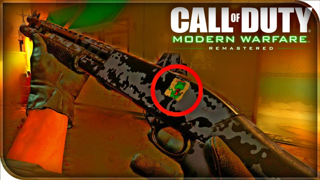 New Stickers In Modern Warfare Remastered How To Unlock Weapon Stickers In Cod4 Youtube