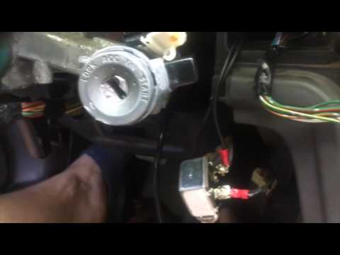 How to remove an Ignition Lock Cylinder without a Key MK3 Toyota Supra - YouTube