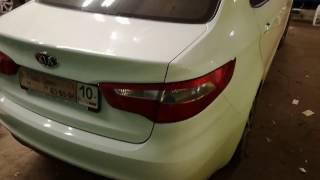 Установка датчиков парковки(Kia Rio)(Ставим парктроник на задний бампер автомобиля., 2016-10-22T15:15:06.000Z)