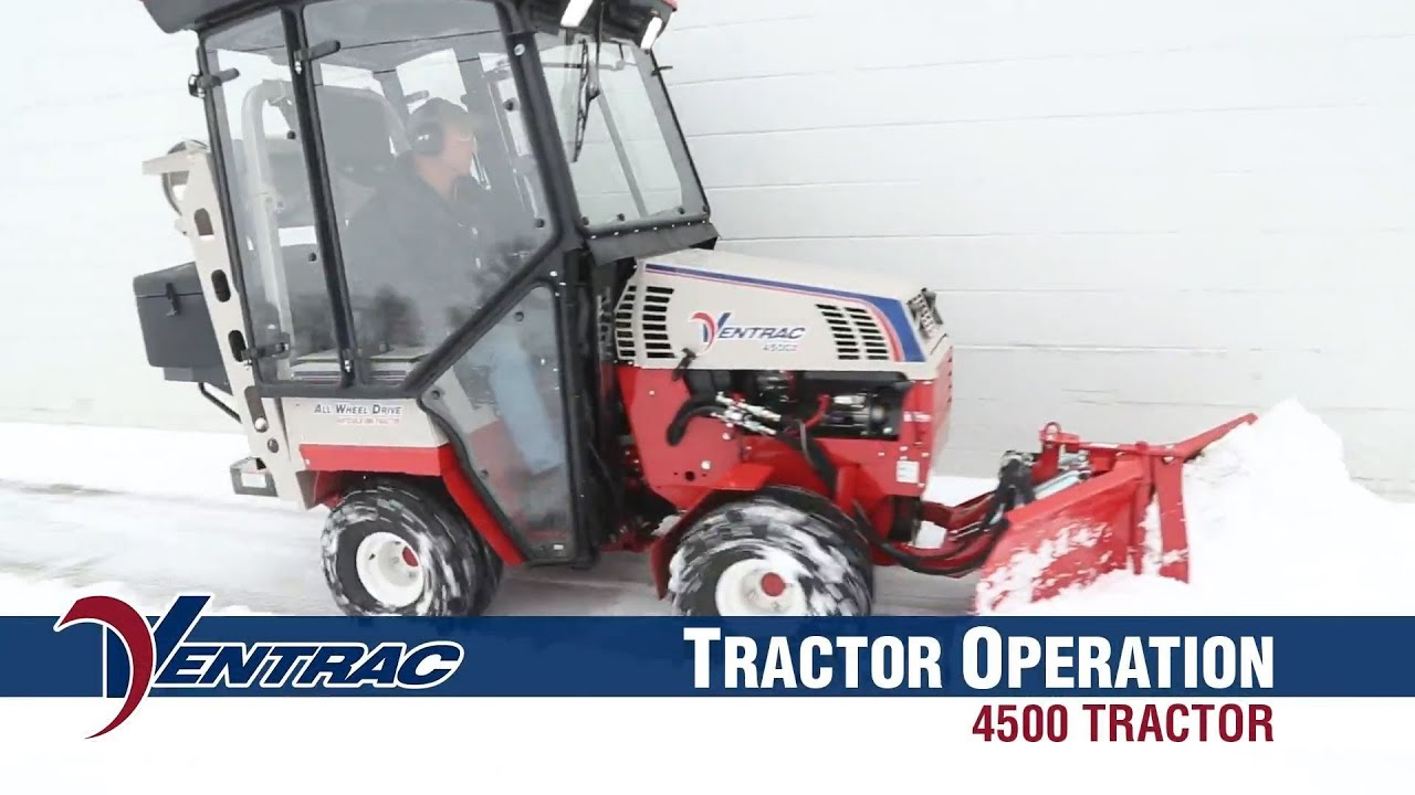 Video - Basic Operations for a Ventrac 4500 Tractor