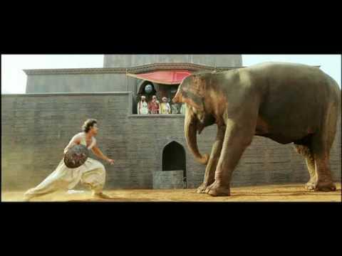 Jodhaa Akbar - Hrithik Roshan controls a wild Elephant HQ thumbnail