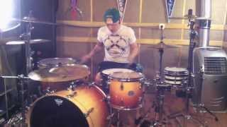 New Found Glory - hit or miss drum cover by Dima Burdin