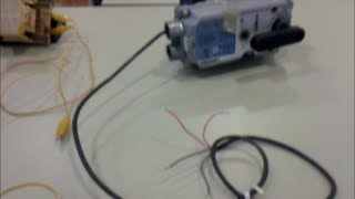 Testing a Siemens valve actuator with a 0 to 10VDC control signal and feedback