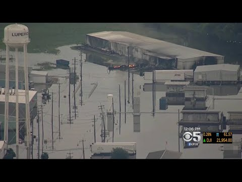 Explosions At Texas Chemical Plant Latest Concerns To Arise In Flood Area
