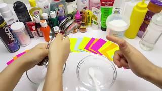 Kaşık Slime Challenge - Eğlenceli Kase Değiştirmeli Challenge