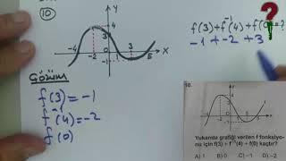 1 Nisan 2018 tarihli Matematik 3 sınavının soru çözümleri - Açık Lise