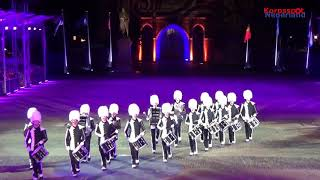 Drum- en Showfanfare Advendo tijdens Taptoe Delft 2018
