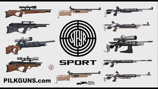 All Steyr Sport's PCP Rifles (19 GUNS!) Full Steyr PCP Line-Up Explained