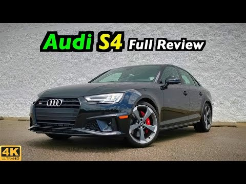 2019 Audi S4: FULL REVIEW + DRIVE | Is the new Black Optic an M340i Killer??