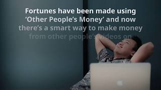 Make Money From Youtube With No Filming, No Marketing And No Website