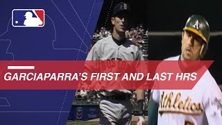 A look at Garciaparra's first and last MLB home runs