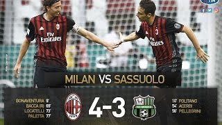 Download Video AC Milan vs Sassuolo 4-3 All Goals & Highlights  Amazing Comeback MP3 3GP MP4
