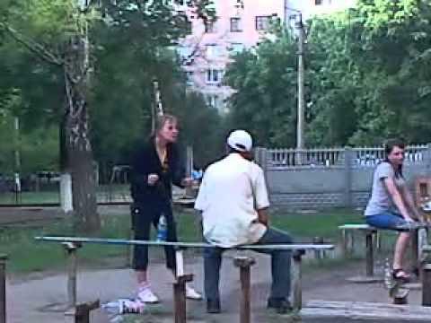 Алкашка в Краматорске
