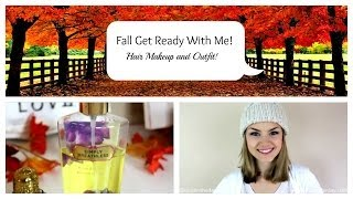 Get Ready With Me On a Fall Morning! (Hair, Makeup and Outfit) Thumbnail
