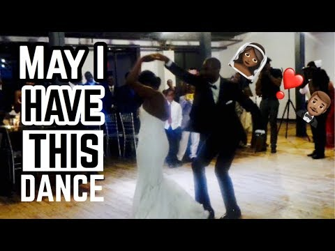 "BEST Wedding Choreo ""May I Have This Dance"" Ft.Chance The Rapper