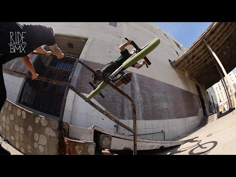 JAKE SEELEY - HOMIE SESSIONS - RIDE BMX