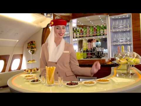 Thumbnail: Cabin Tour | Two-class Airbus A380 | Emirates Airline