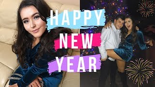 NEW YEARS EVE VLOG | Prep, Party + Happiness 🍷🍾🍸🎉