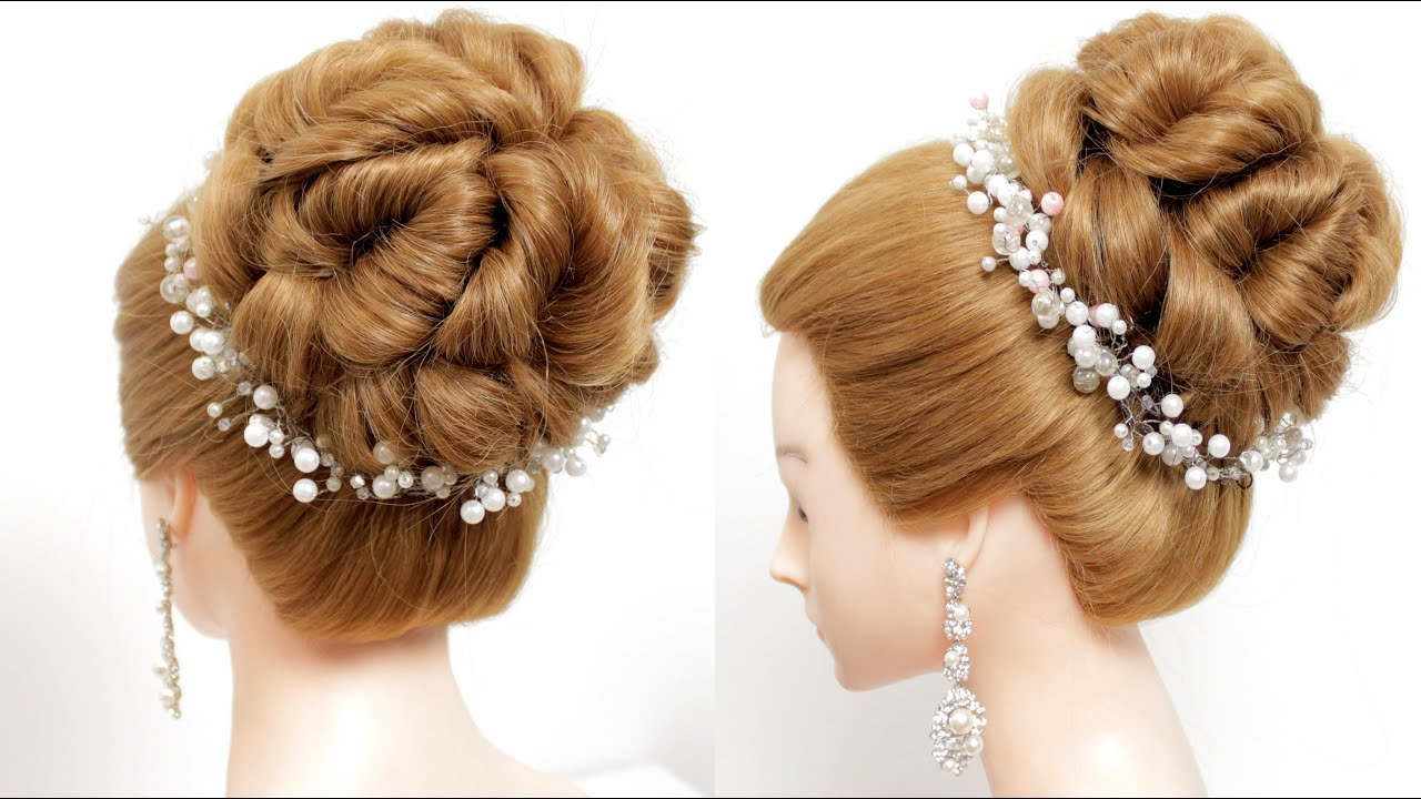 Party hairstyles for medium&long hair. Bridal hairstyle. [Hair inspiration]