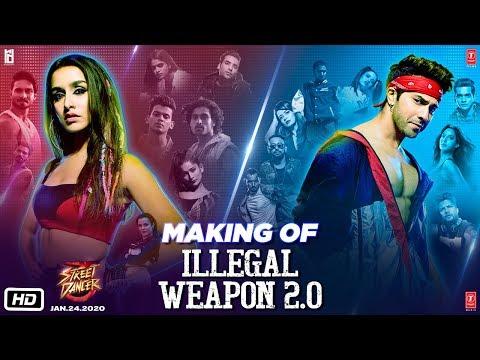 making-of-illegal-weapon-2.0---street-dancer-3d-|-varun-d,-shraddha-k-|-tanishk-b,jasmine-s,garry-s
