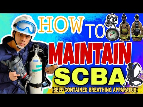 How To Maintain SCBA (SELF CONTAINED BREATHING APPARATUS) Onboard - VLOG#8