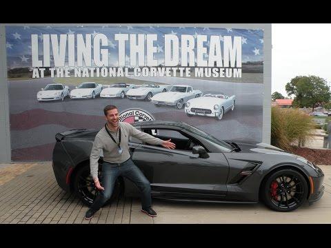 2017 Corvette Grand Sport: My R8C National Corvette Museum Delivery Experience