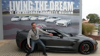 Corvette Grand Sport: My R8C National Corvette Museum Delivery Experience