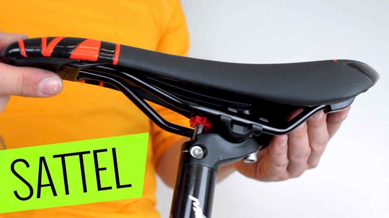 fahrrad sattel einstellen richtige sitzposition herausfinden youtube. Black Bedroom Furniture Sets. Home Design Ideas