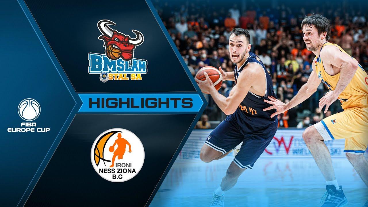 Arged BMSLAM Stal - Ironi Ness Ziona | Highlights | Final - FIBA Europe Cup 2020-21