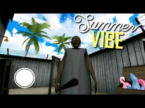 Granny Goes On A Beach Vacation! Then This Happened... Granny (game)