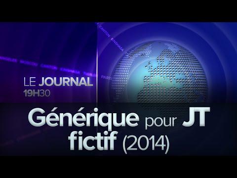 Générique pour Journal Télévisé fictif (2014)