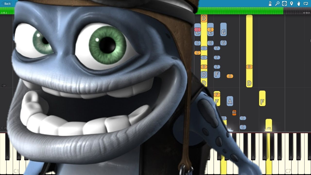 1 4 Npt >> IMPOSSIBLE REMIX - Crazy Frog - Axel F - Piano Cover - YouTube