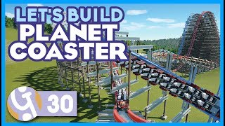 🎢 Duelling Hybrid Coasters (Part 1) | Let's Build Planet Coaster #30