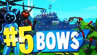 TOP 5 BEST BOW Creative Maps In Fortnite | Fortnite Bow Map CODES | Fortnite Bow Maps