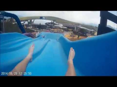 Aquapark Tatralandia Slovakia 2014 (waterslide) SJ4000