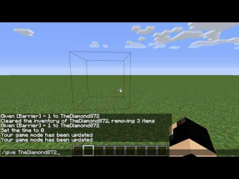 Ethan H How To Get A Minecraft Command Blockbarrier And