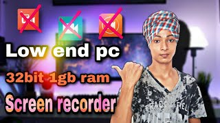How to download screen recorder for 1gb ram pc ||low end pc #technicalshadow #technicalgyan #technic