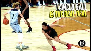 15 y/o LaMelo Ball COOKS Oak Hill for 36 Points!! 👀👀 He Was Ranked #3 In His Class Then!