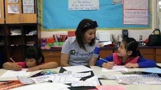 Expedia Cares | Tutoring Seattle Elementary Students