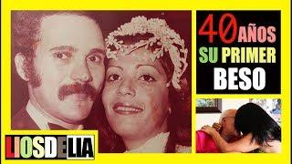 ¡40 AÑOS JUNTOS!, ¿CÓMO FUE SU PRIMER BESO? | LIOSDELIA