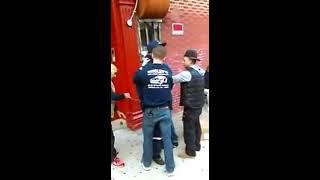 NYPD unlawful arrest of U.S. Postal worker Glenn Grays