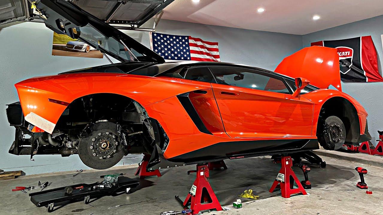 Lên Đồ Xe Lamborghini Aventador Tập 1