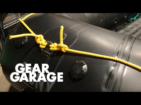 Gear Garage Ep. 96: A Method For Tying Perimeter Lines On Rafts