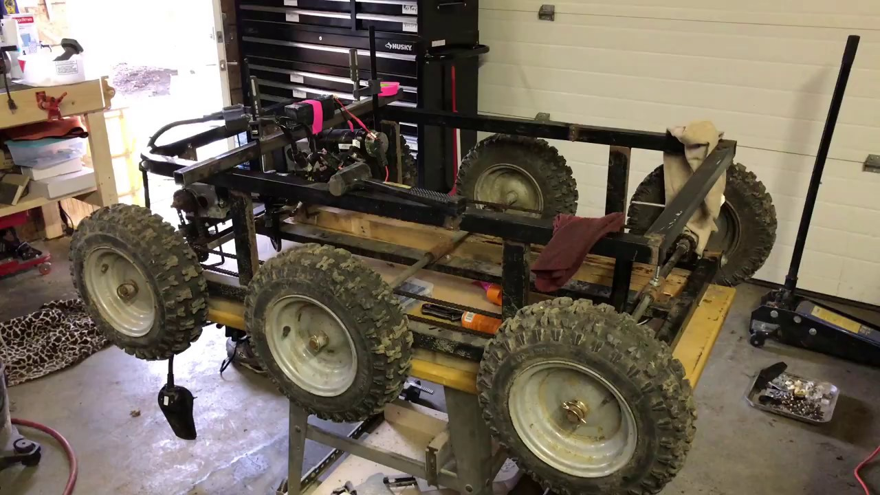 Mini skid steer utility thingy build
