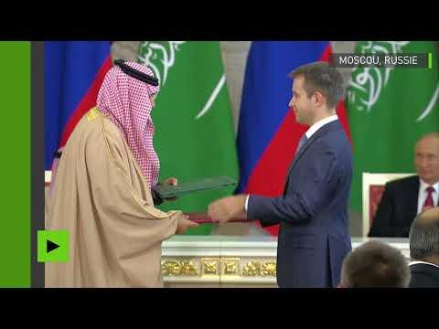 Des accords pour plusieurs milliards de dollars convenus entre la Russie et l'Arabie saoudite